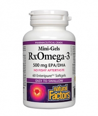 NATURAL FACTORS Rx Omega-3 500mg. / 60 Soft.