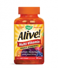 NATURES WAY Alive Multi-Vitamin Adult Gummies 150mg. / 90 Gummies