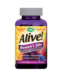 NATURES WAY Alive Women's 50+ Gummy Vitamins 150mg. / 75 Gummies