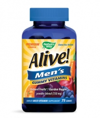 NATURES WAY Alive Men's Gummy Vitamins 150mg. / 75 Gummies
