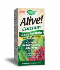 NATURES WAY Alive Calcium Bone Formula 1000mg. / 60 Tabs.