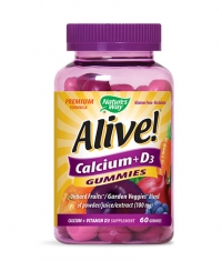 NATURES WAY Alive Calcium + Vitamin D3 250mg. / 60 Gummies