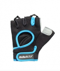 BIOTECH USA Budapest Gloves / Black-Blue