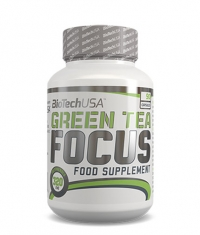 BIOTECH USA GREEN TEA FOCUS / 90 Caps.