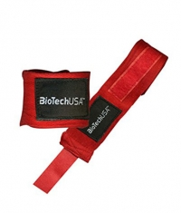 BIOTECH USA Bedford 2 Wrist Bands / Red