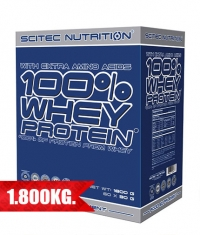 SCITEC 100% Whey Protein Box / 60 Serv.