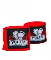 PULEV SPORT Hand Wraps / Red