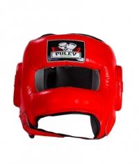 PULEV SPORT Headguard Face Bar / Red