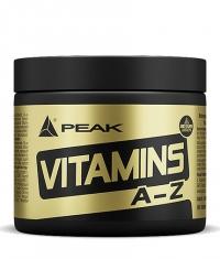 PEAK Vitamins A-Z / 180 Tabs.