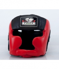 PULEV SPORT Headguard Cheek Protect / Red-Black