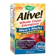 NATURES WAY Alive!®  Men's Multi  Max Potency / 30 Tabs.