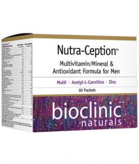 Bioclinic Naturals Nutra-Ception Multivitamin/Mineral & Antioxidant Formula for Men / 60 Packs.