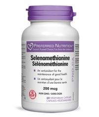 Preferred Nutrition Selenomethionine / 200mcg 60Vcaps.