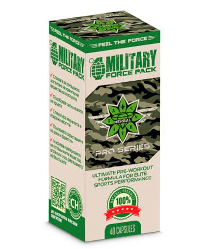 CVETITA HERBAL Military Force Pack / 40 Caps.