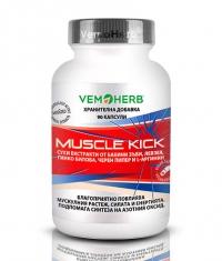 VEMOHERB Muscle Kick / 90 Caps.