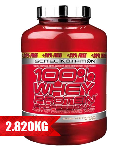 SCITEC Whey Protein Professional / 2350g. + 20% FREE