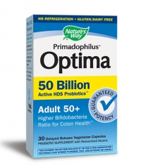 NATURES WAY Primadophilus Optima 50+ / 30 Vcaps.
