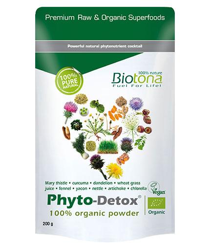 BIOTONA Phyto-Detox 100% Organic Powder