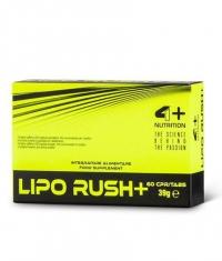 4+ NUTRITION LIPO RUSH + / 60 Caps.