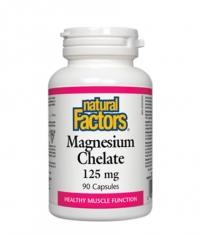 NATURAL FACTORS Magnesium Chelate 125mg. / 90 Caps.