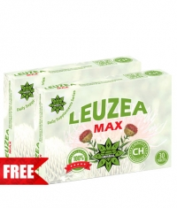 PROMO STACK CVETITA Leuzea Max TABS. 1+1 FREE