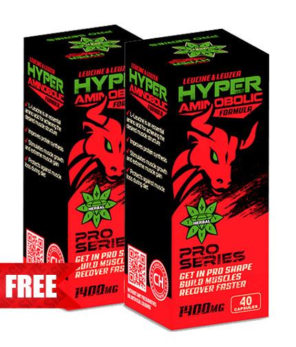PROMO STACK CVETITA Hyper Aminobolic 40 CAPS. 1+1 FREE