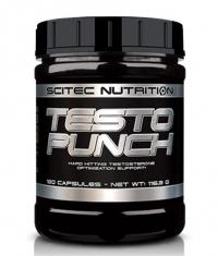 SCITEC Testo Punch / 120 Caps.