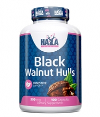 HAYA LABS Black Walnut Hulls 500mg. / 100 caps.