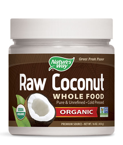 NATURES WAY Organic Raw Coconut