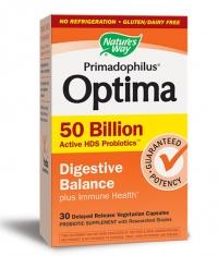 NATURES WAY Primadophilus Optima Digestive Balance / 30 Vcaps.