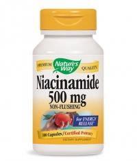 NATURES WAY Niacinamide 500mg. / 100 Caps.