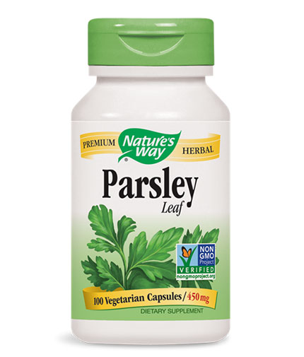 NATURES WAY Parsley Leaf 450mg. / 100 Vcaps.