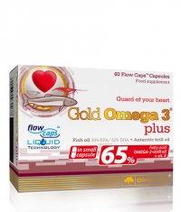 OLIMP Gold Omega-3 65% Plus Krill Oil / 60 Caps.