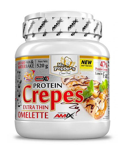 AMIX Mr.Popper´s Crepes High Protein Omelette 520g