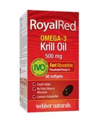 WEBBER NATURALS Royal Red Omega-3 Krill Oil 500mg. / 60 Soft.