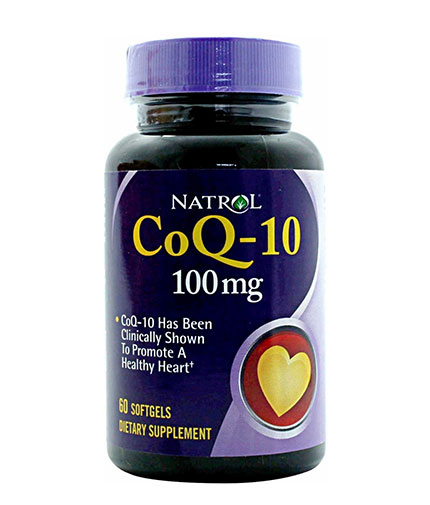 NATROL CoQ-10 100mg / 60 Soft.