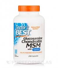 DOCTOR'S BEST Glucosamine Chondroitin MSM / 240 Caps.