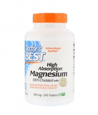 DOCTOR'S BEST High Absorption Magnesium / 240 Tabs.