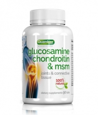 QUAMTRAX NUTRITION Glucosamine Condroitin & MSM / 90 Tabs.