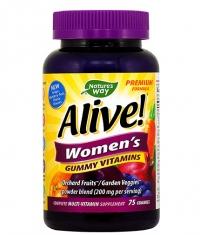 NATURES WAY Alive Women's Gummy Vitamins 150mg. / 75 Gummies