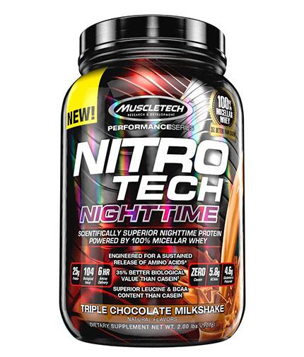 MUSCLETECH NitroTech Nighttime