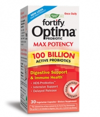 NATURES WAY Primadophilus Optima Max Potency 100 Billion / 30 Vcaps.