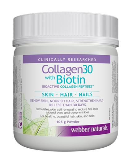 WEBBER NATURALS Collagen30 with Biotin