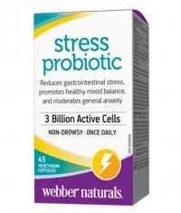 WEBBER NATURALS Stress Probiotic 3 Billion / 45Vcaps.