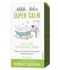 WEBBER NATURALS Super Calm / 60Caps.