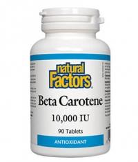 NATURAL FACTORS Beta Carotene 10 000 iu / 90 Tabs.