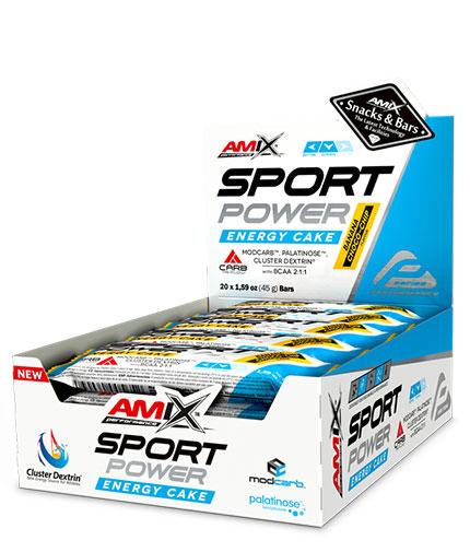 AMIX Sport Power Energy Cake / 20x45g.
