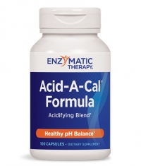 ENZYMATIC THERAPY Acid-A-Cal 387mg. / 100 Caps.