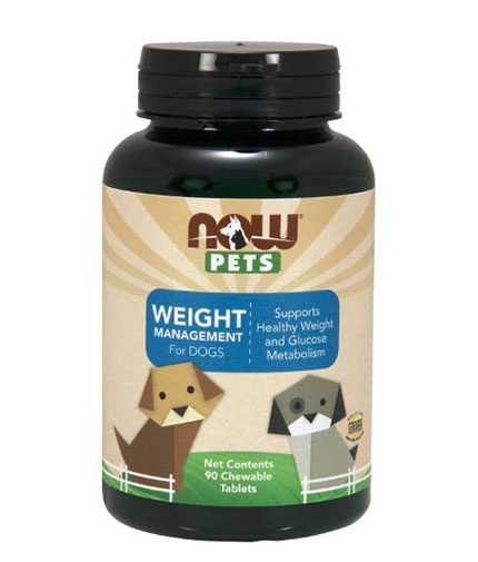 NOW PETS Weight Management / 90 Chew.