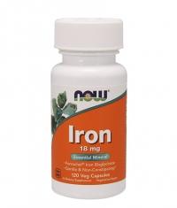 NOW Iron 18mg Ferrochel / 120Vcaps